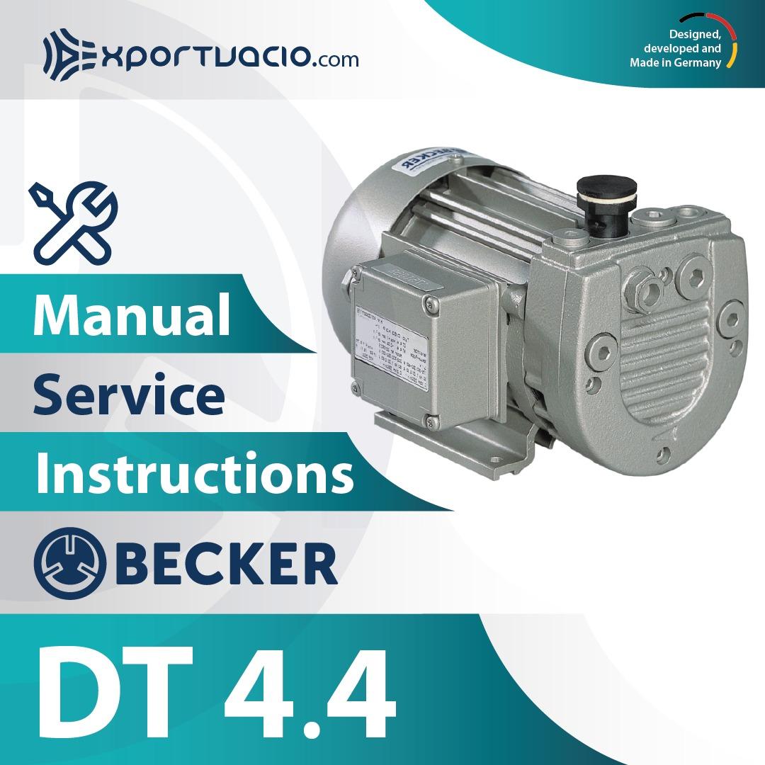 Becker DT 4.4 Manual