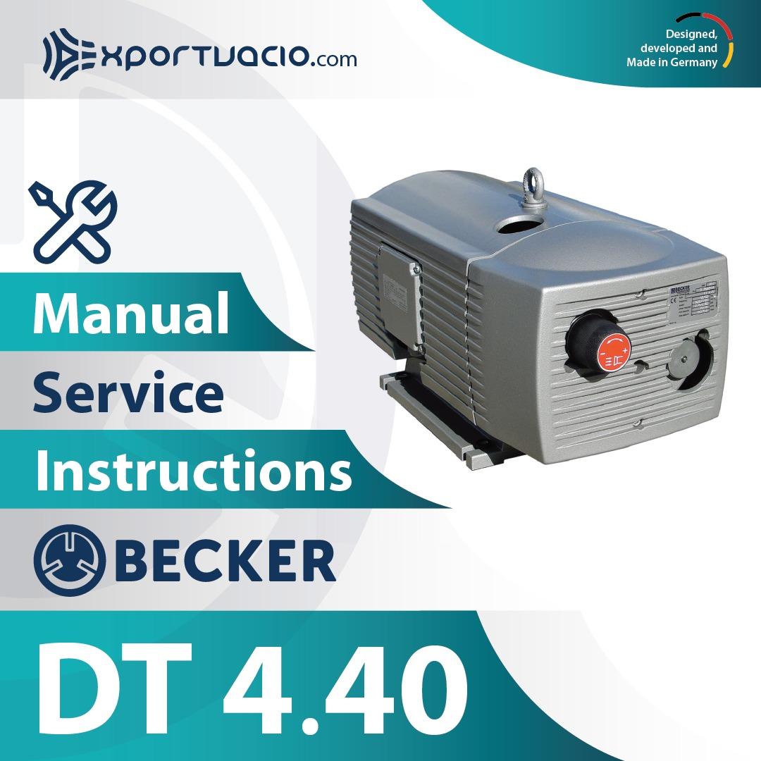 Becker DT 4.40 Manual