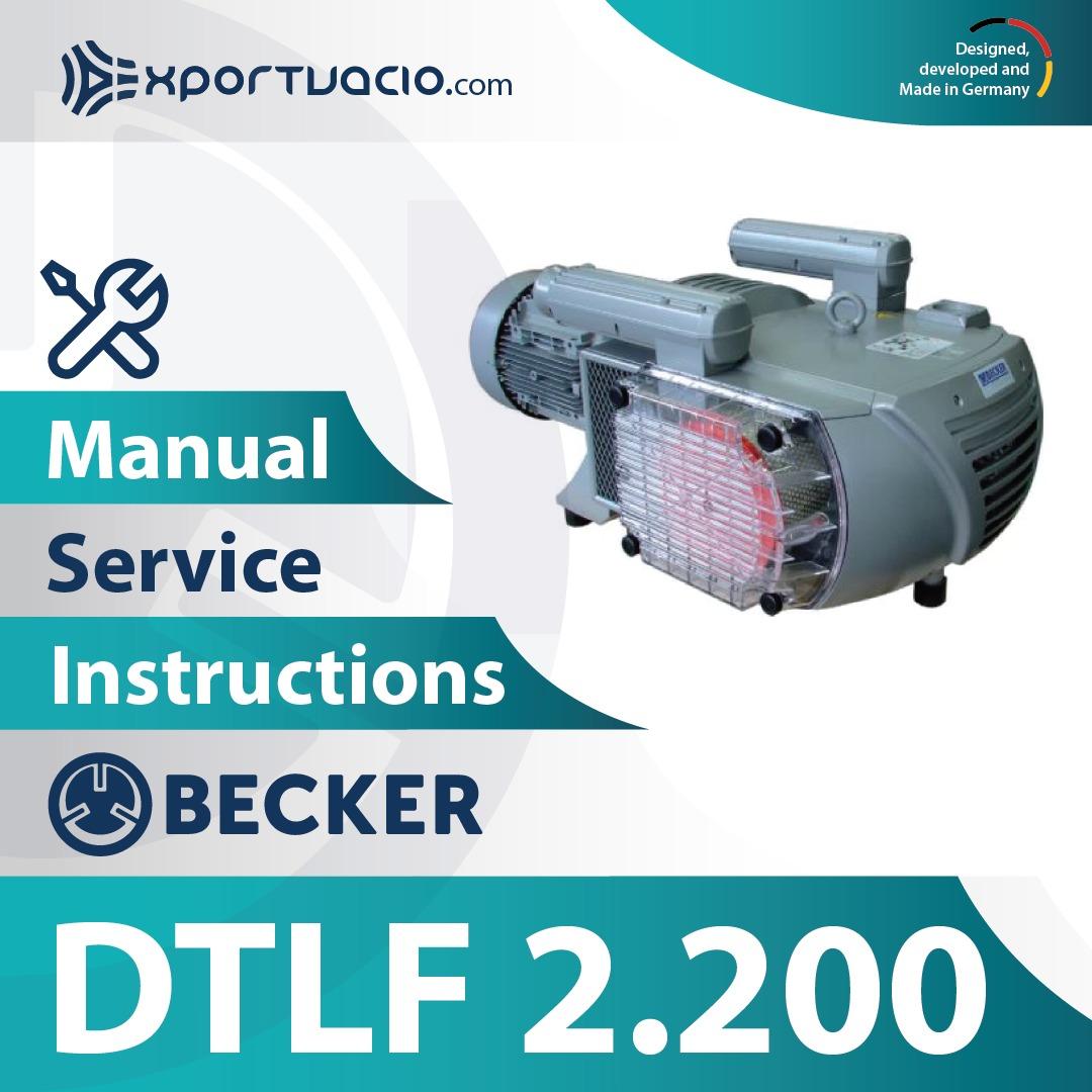 Becker DTLF 2.200 Manual