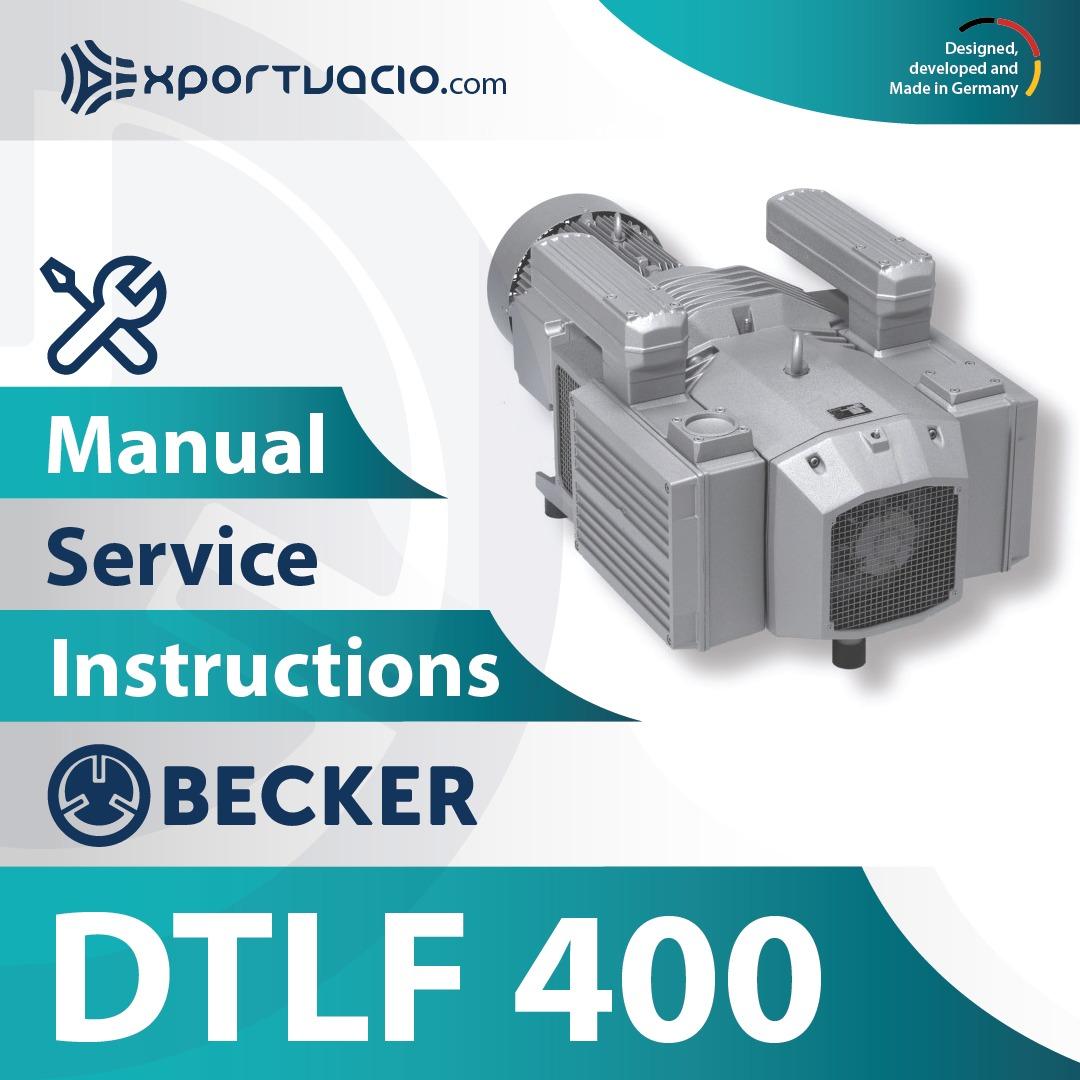 Becker DTLF 400 Manual