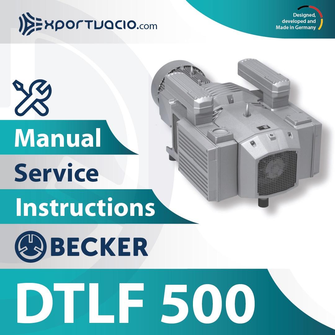 Becker DTLF 500 Manual