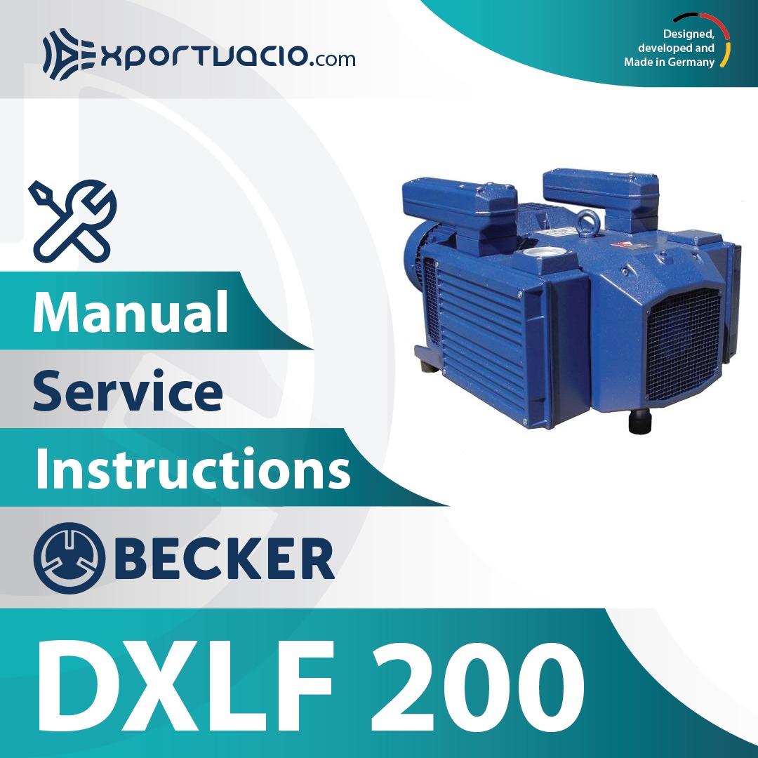 Becker DXLF 200 Manual