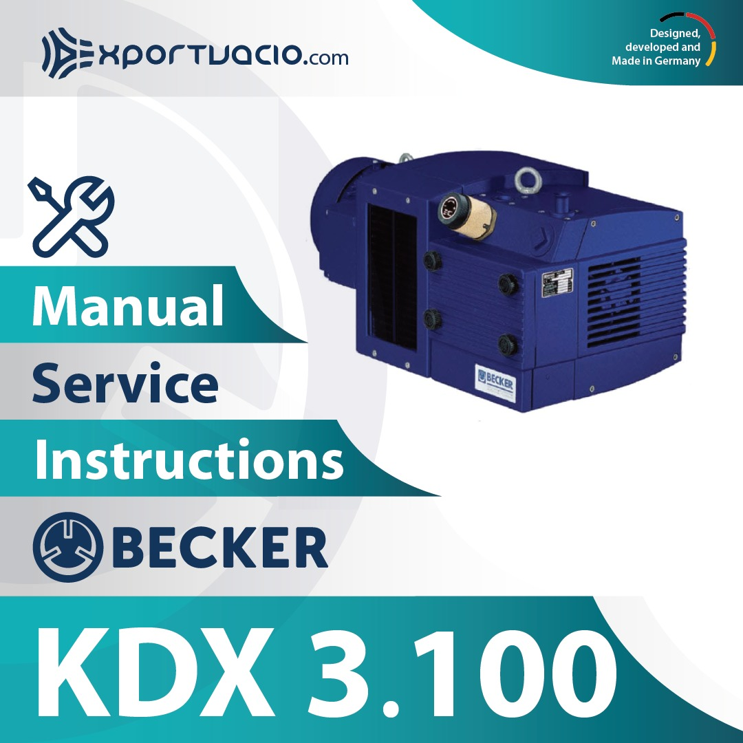 Becker KDX 3.100 Manual
