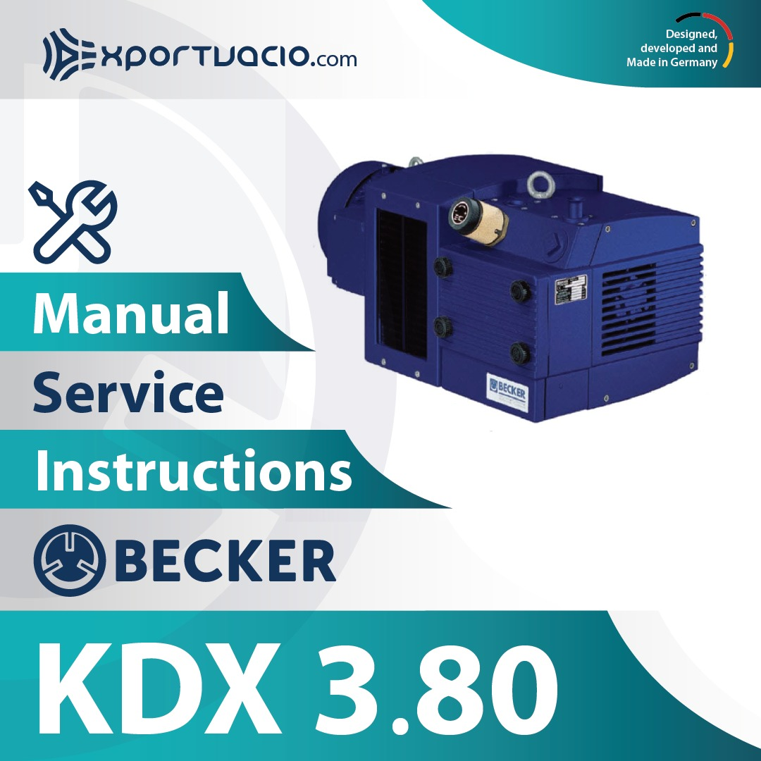 Becker KDX 3.80 Manual