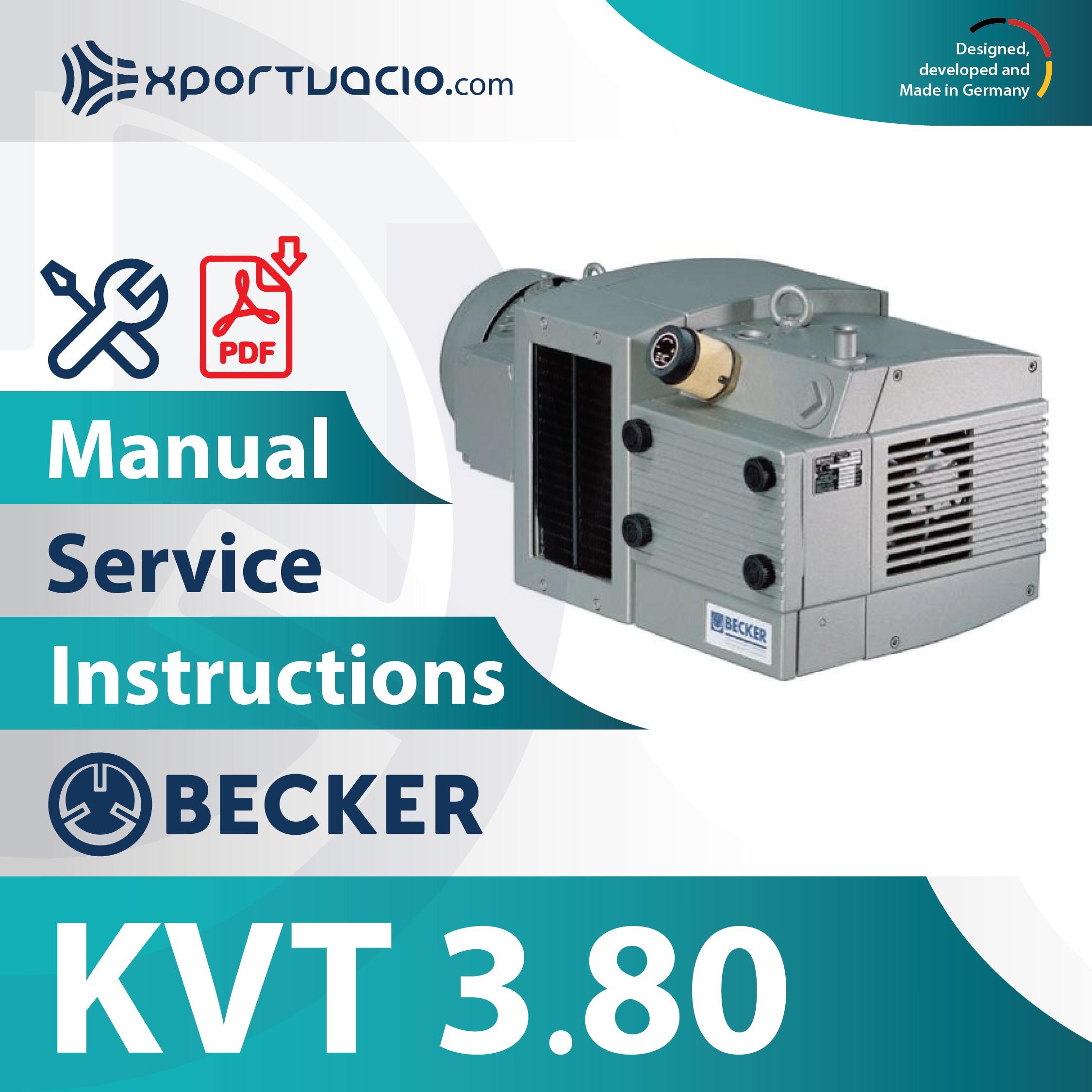 Becker KVT 3.80