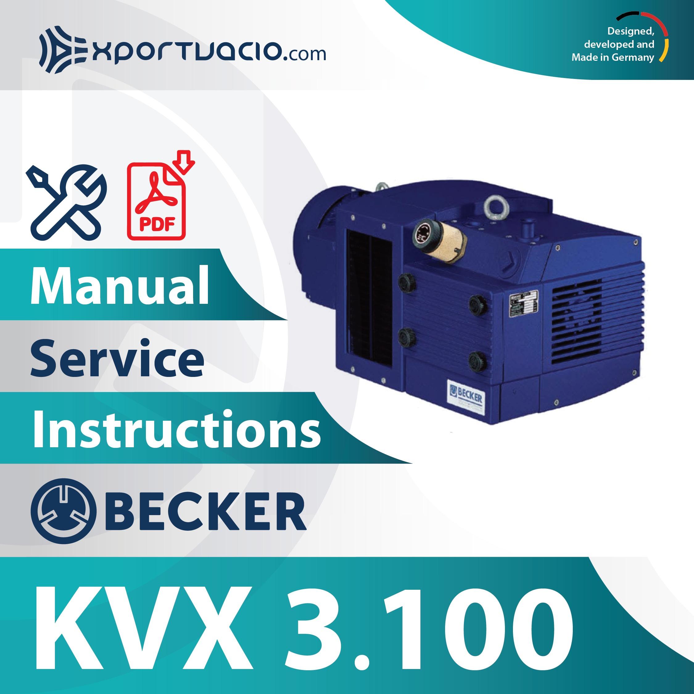 Becker KVX 3.100