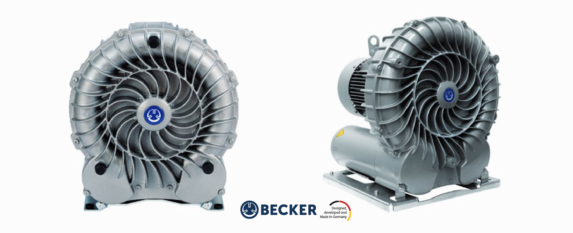 Becker SV 200:1 Blower Bomba de canal lateral