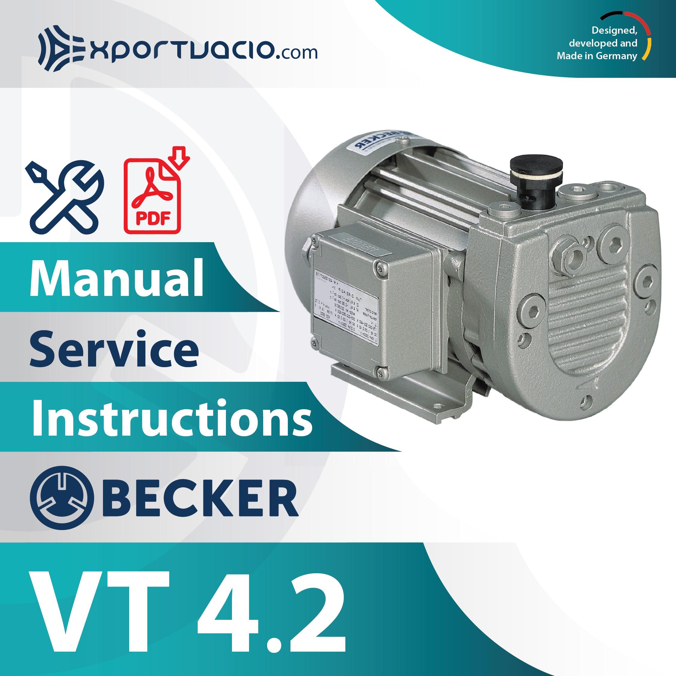 Becker VT 4.2 Manual