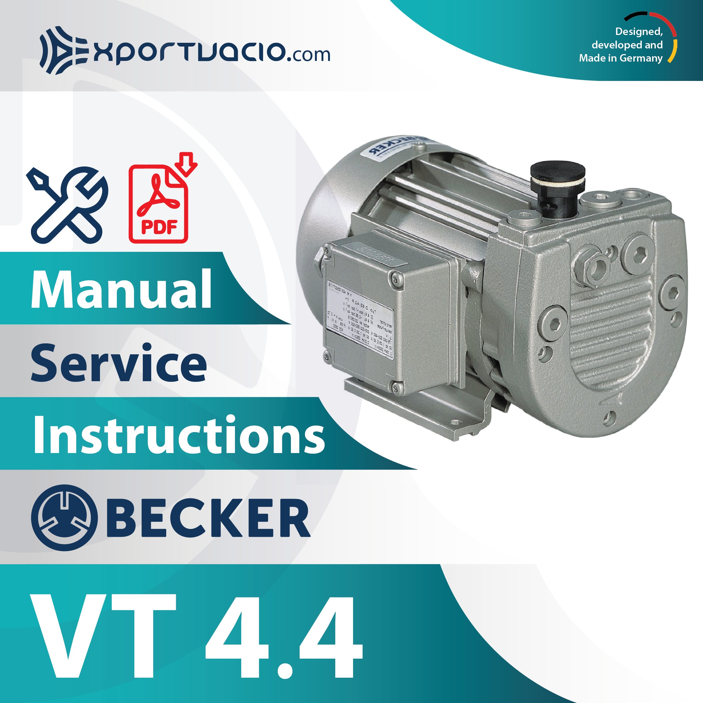 Becker VT 4.4 Manual