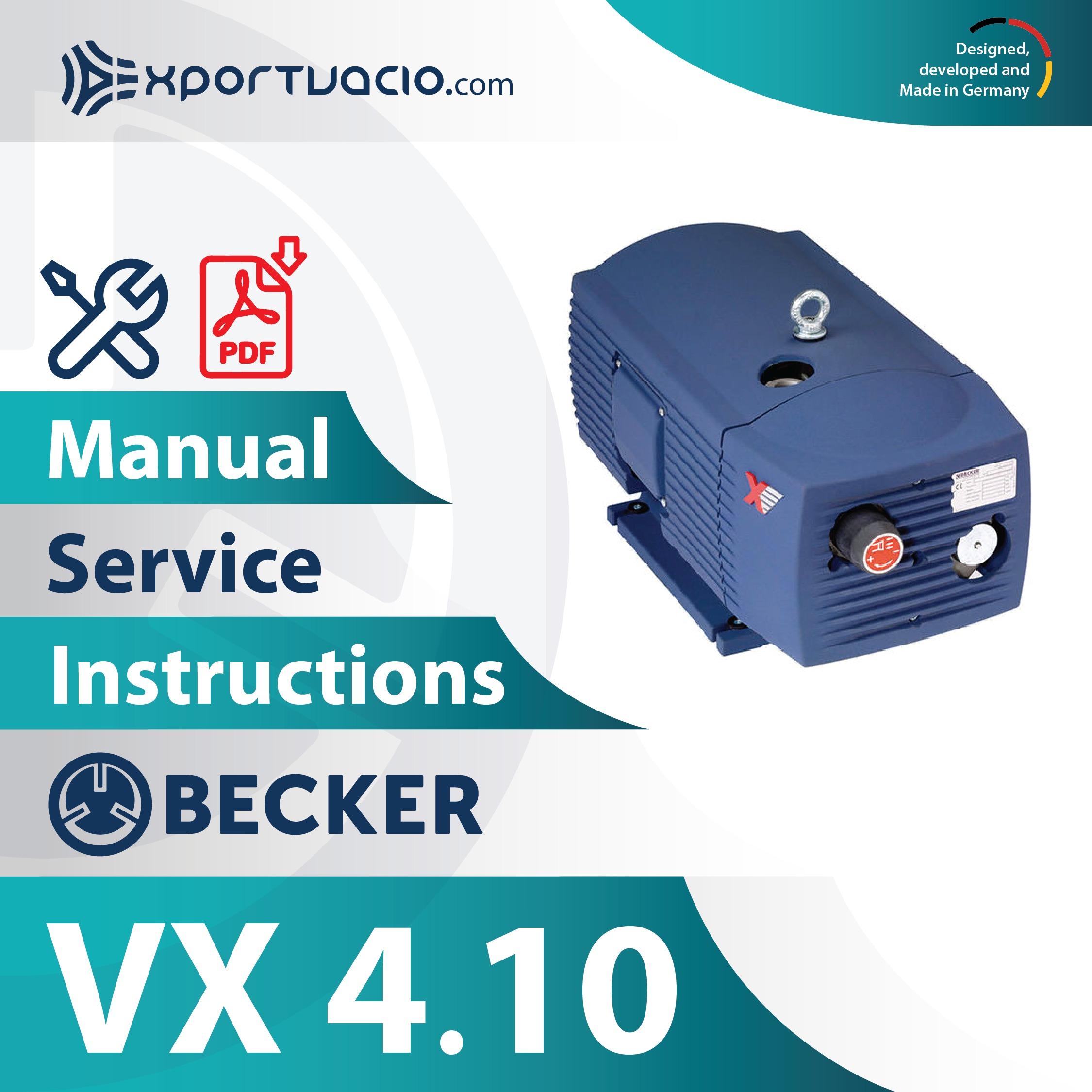 Becker VX 4.10
