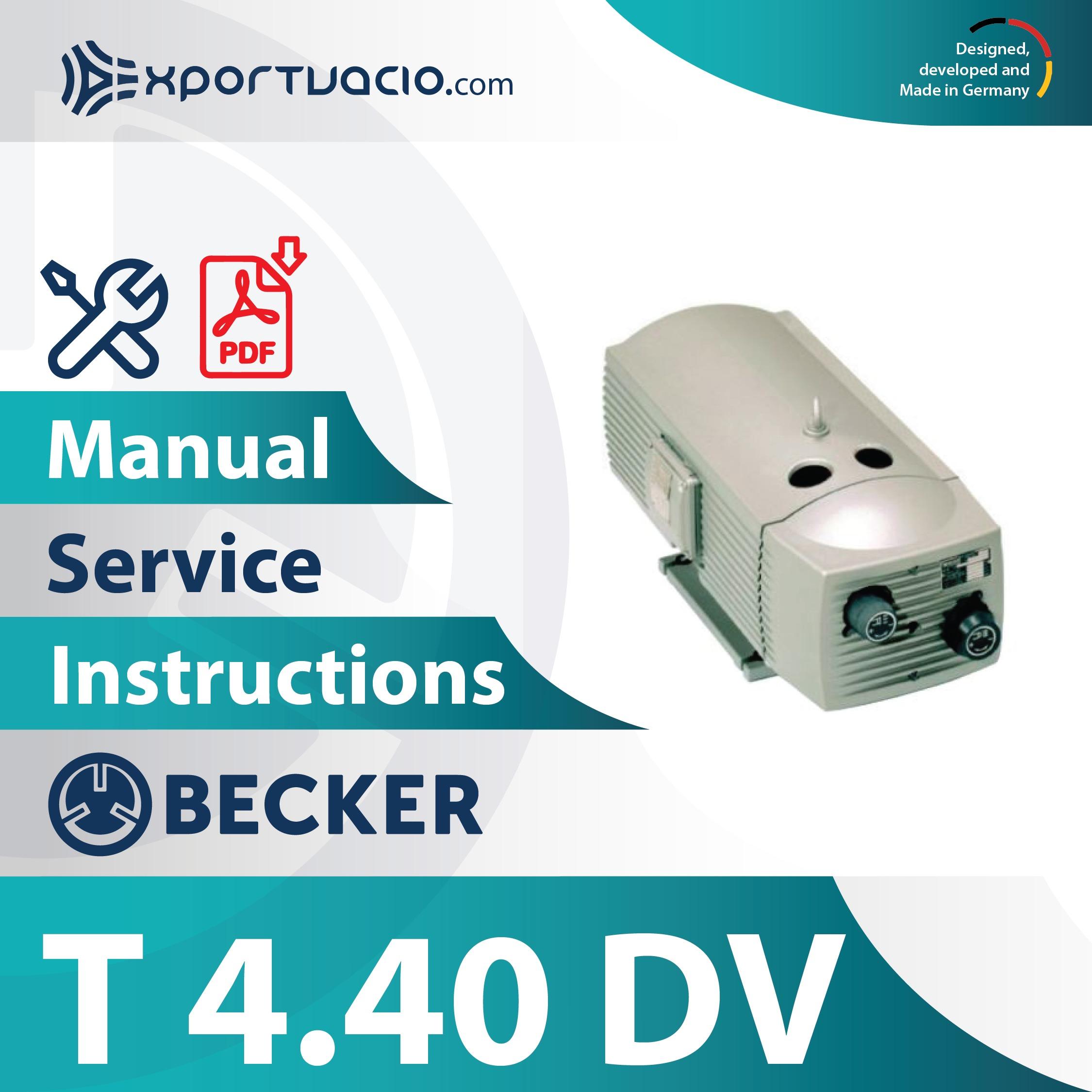 Becker T 4.40 DV