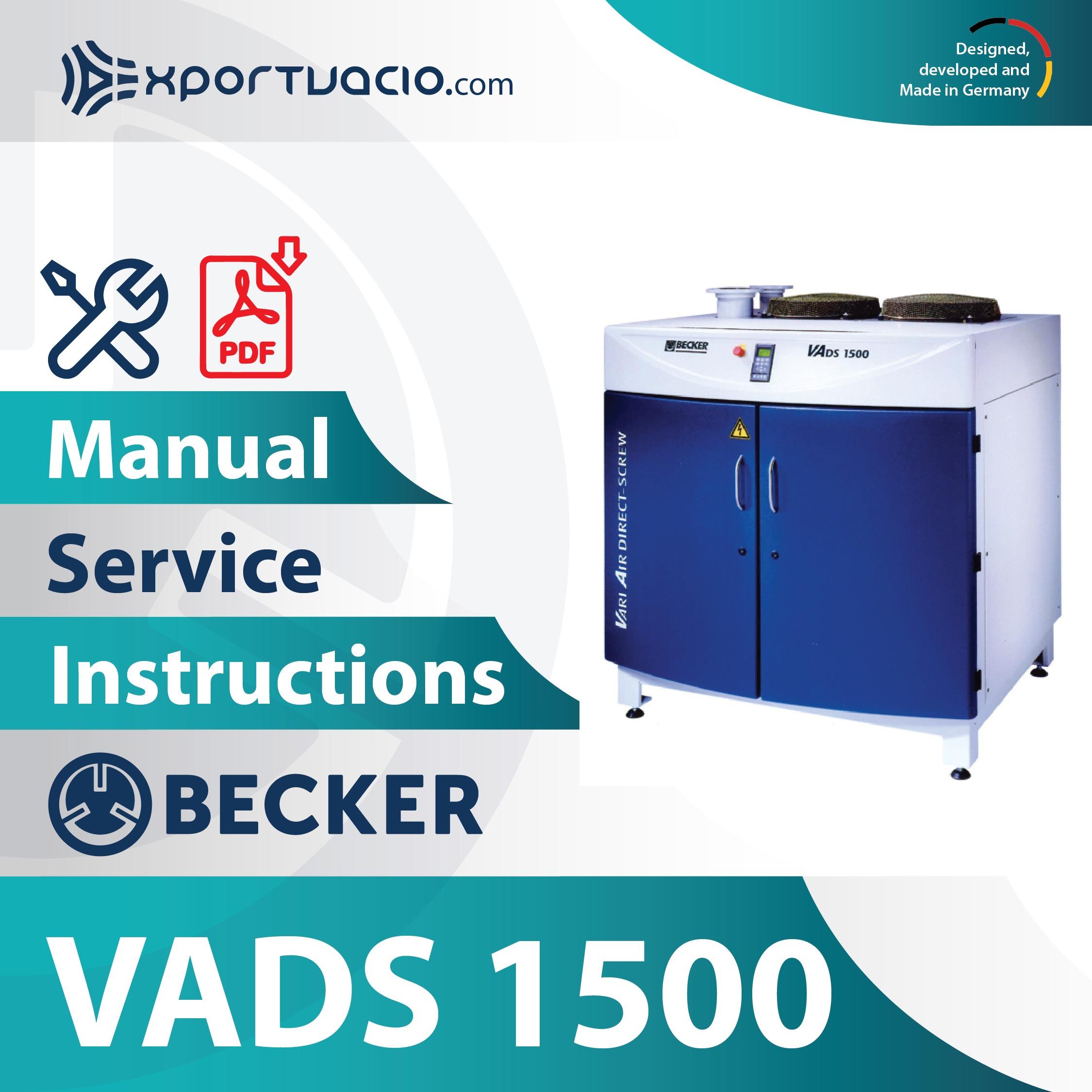 Becker VADS 1500
