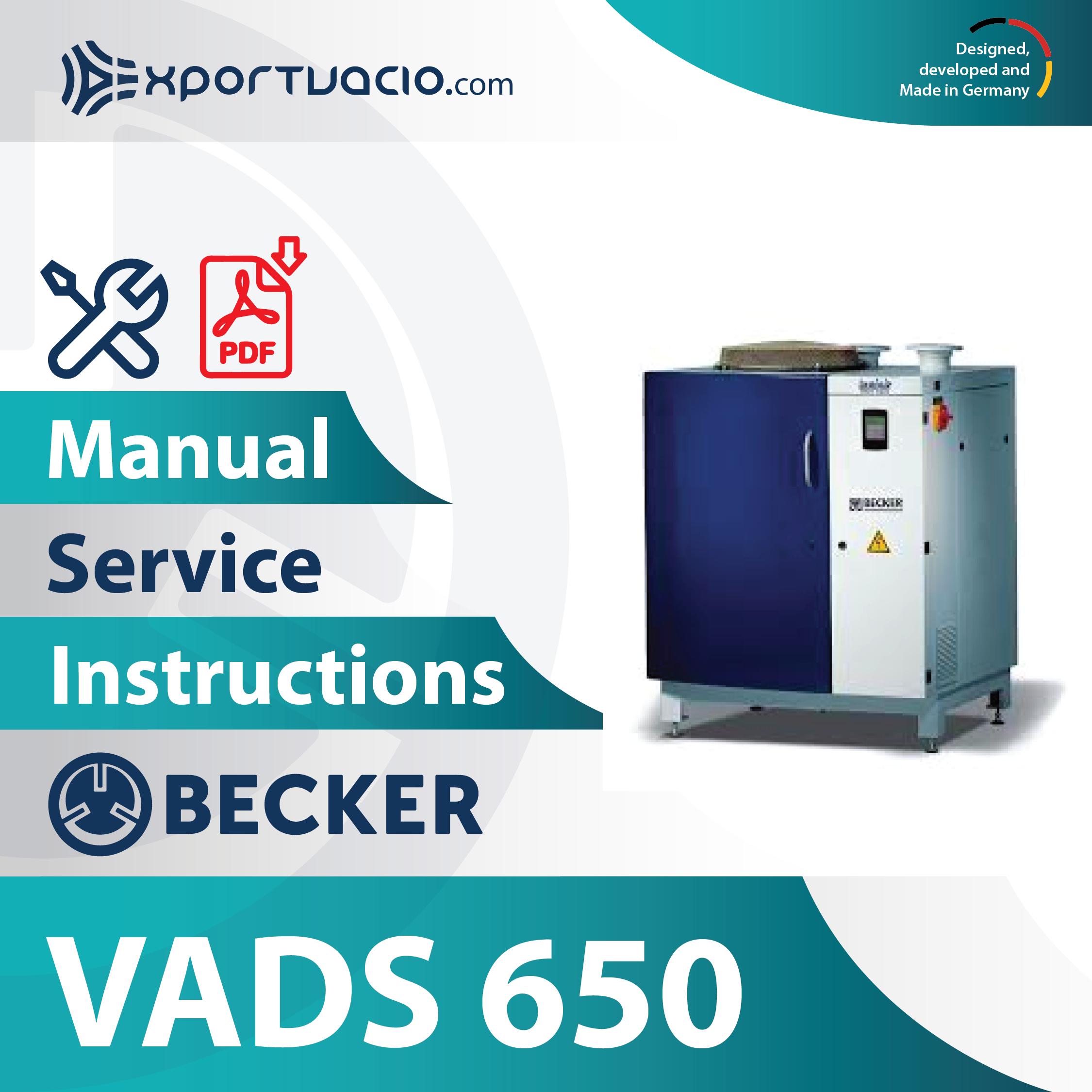 Becker VADS 650
