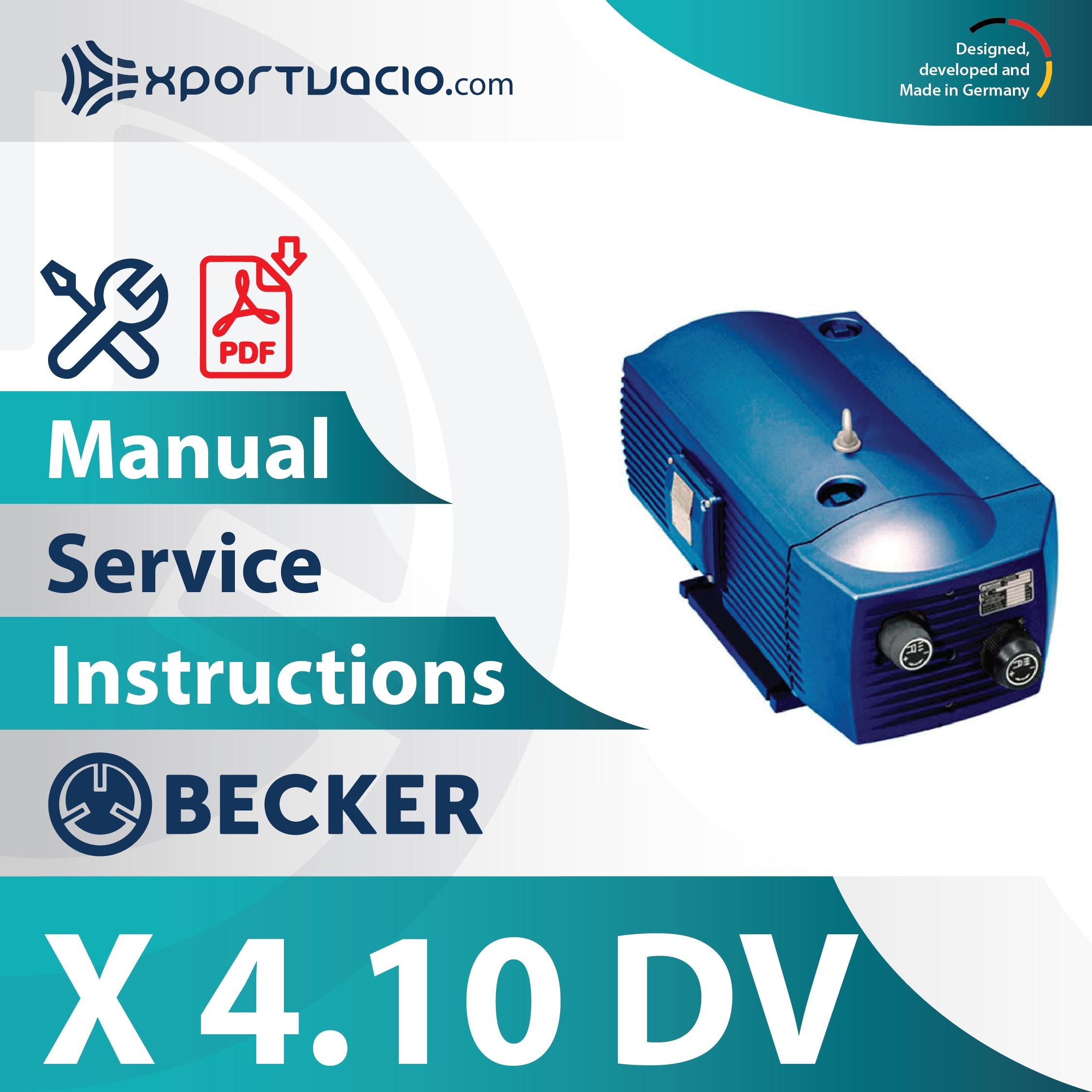 Becker X 4.10 DV